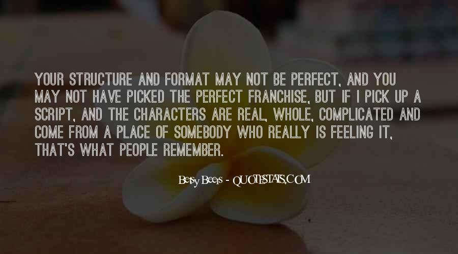 You May Not Perfect Quotes #1666671
