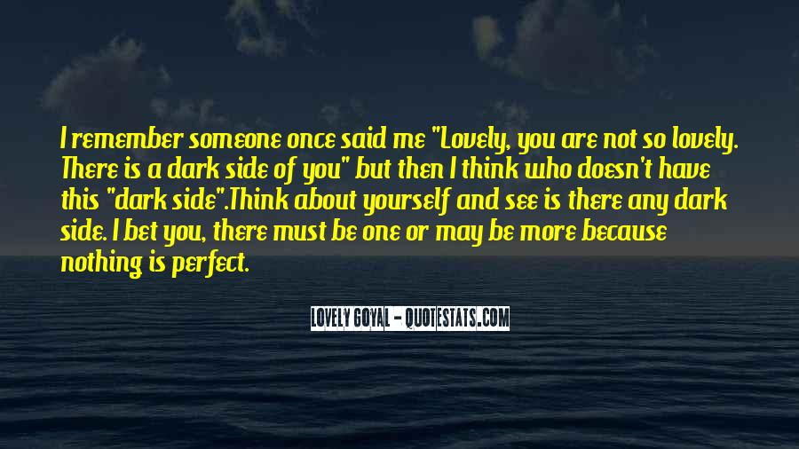 You May Not Perfect Quotes #931392