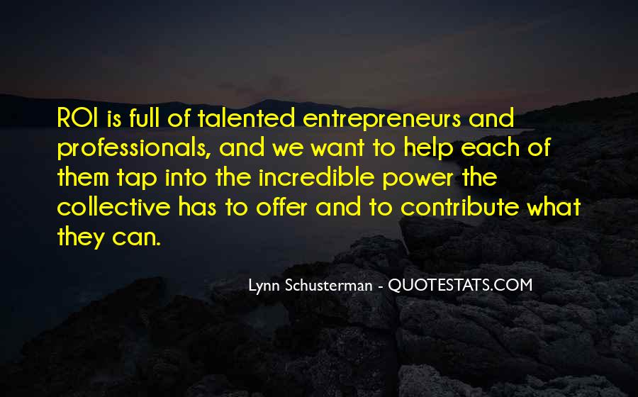 You Must Help Yourself Quotes #3036
