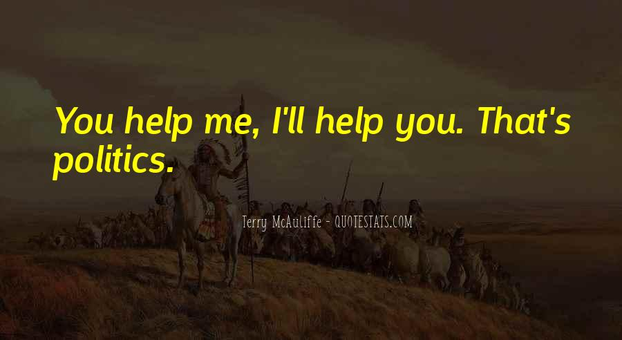 You Must Help Yourself Quotes #3292