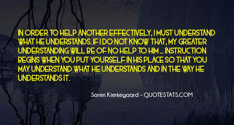 You Must Help Yourself Quotes #732160