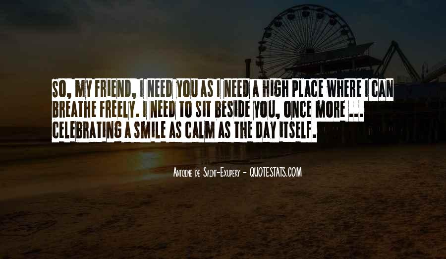 You Need To Smile Quotes #1564640