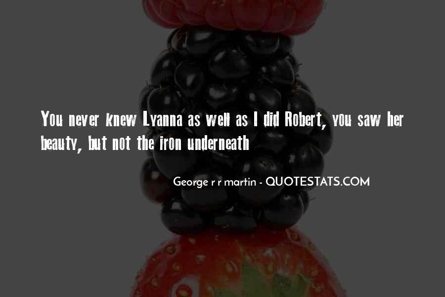 You Never Knew Quotes #11825