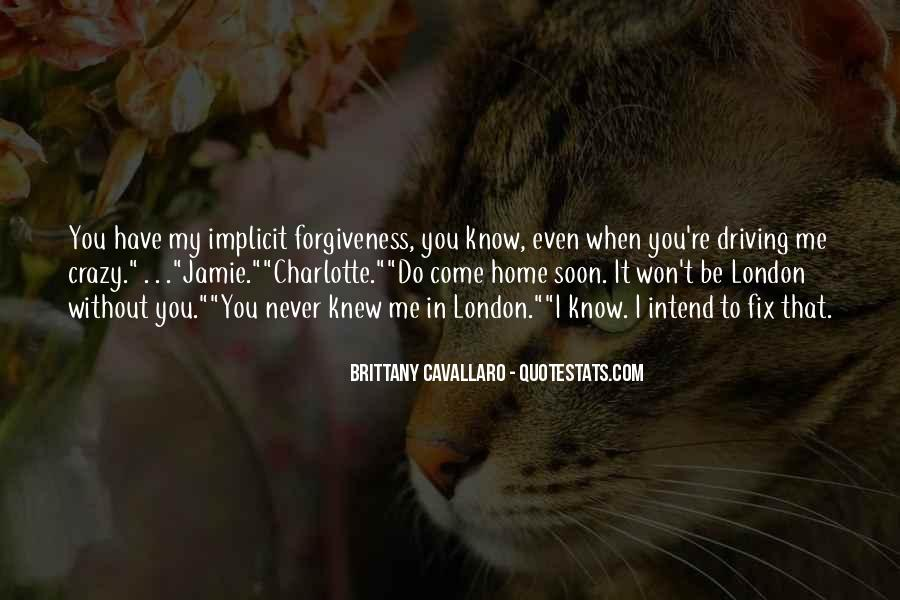 You Never Knew Quotes #122747