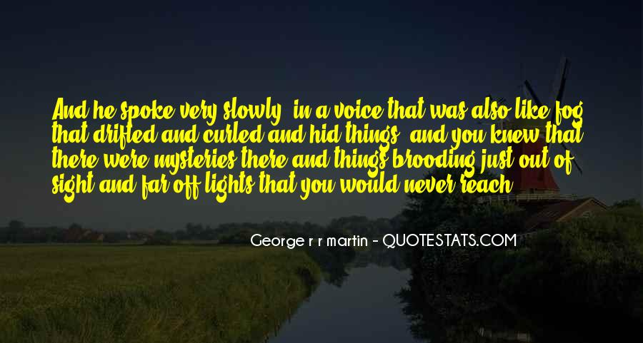 You Never Knew Quotes #148536