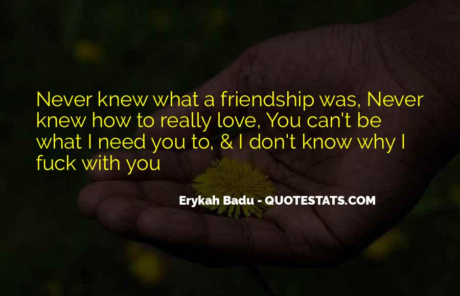 You Never Knew Quotes #165076