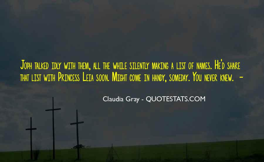 You Never Knew Quotes #169634