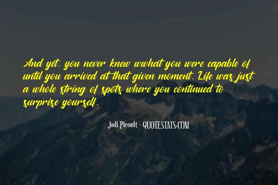 You Never Knew Quotes #242960