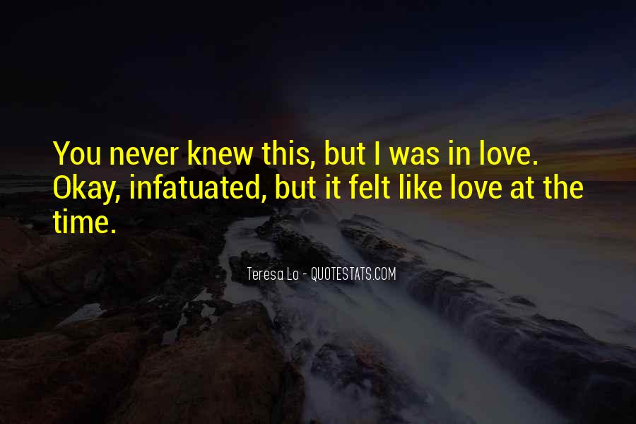 You Never Knew Quotes #273846