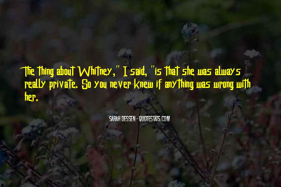 You Never Knew Quotes #286152