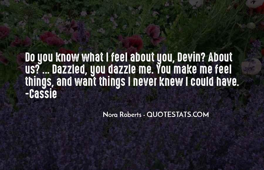 You Never Knew Quotes #286669