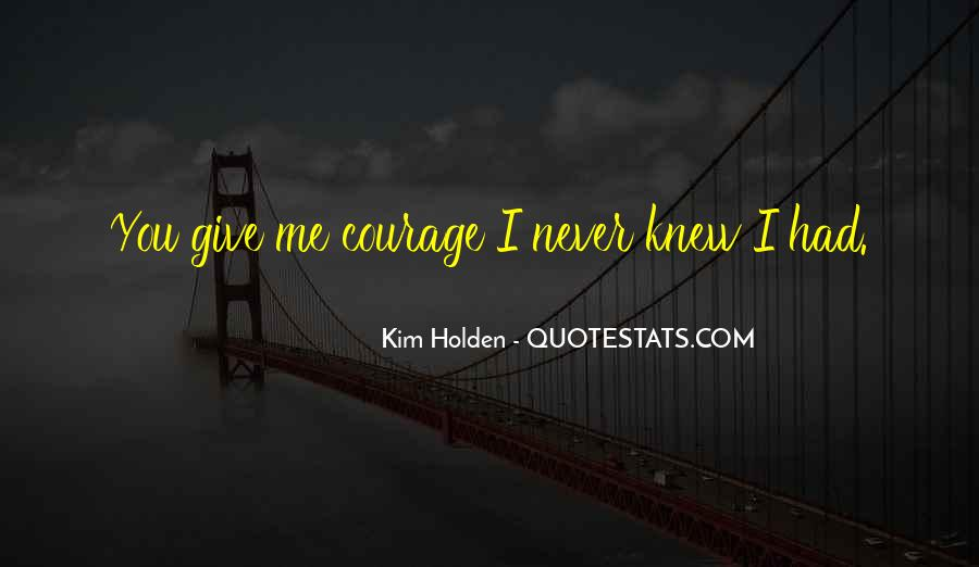 You Never Knew Quotes #297664