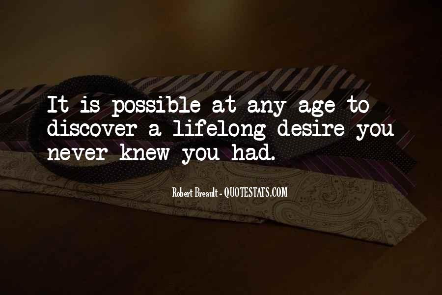 You Never Knew Quotes #320245