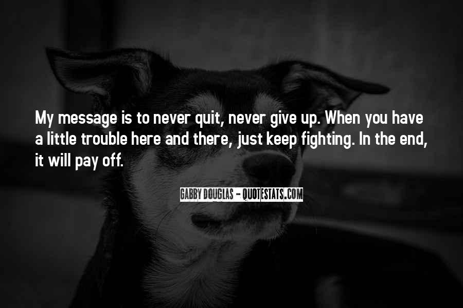 You Never There Quotes #10332