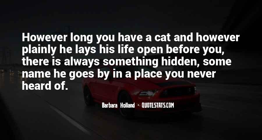 You Never There Quotes #46432