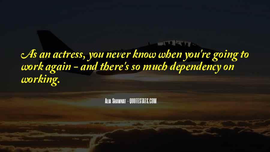 You Never There Quotes #55627