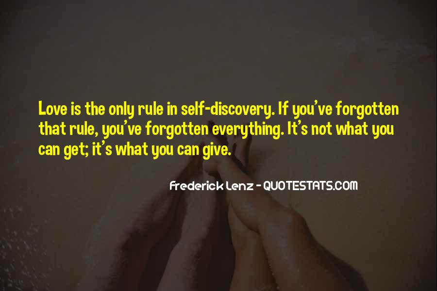 You Not Forgotten Quotes #1078606