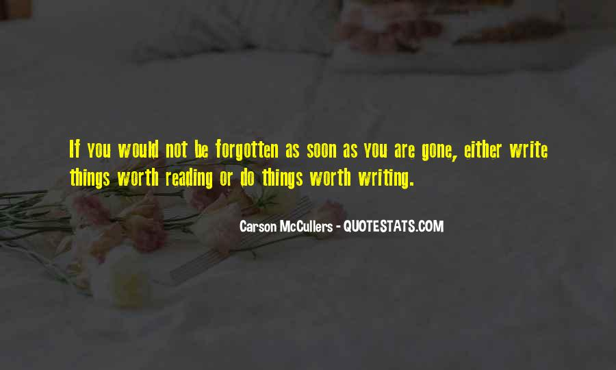 You Not Forgotten Quotes #1221660