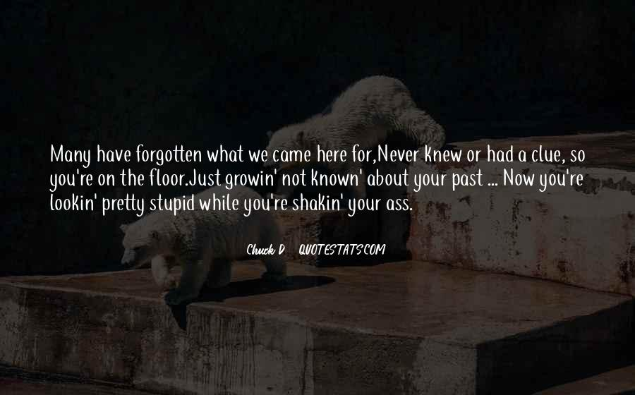 You Not Forgotten Quotes #1309533