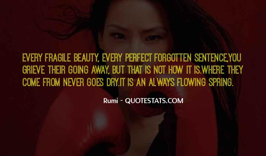 You Not Forgotten Quotes #1323238