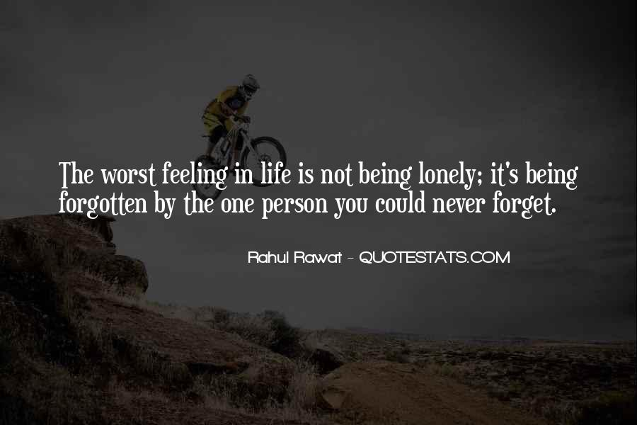 You Not Forgotten Quotes #1388521