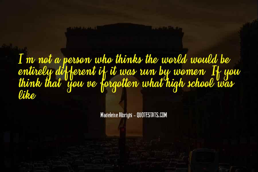 You Not Forgotten Quotes #1409204