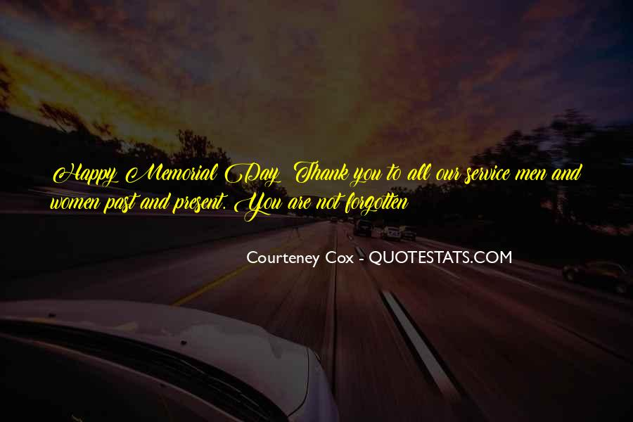 You Not Forgotten Quotes #1630480