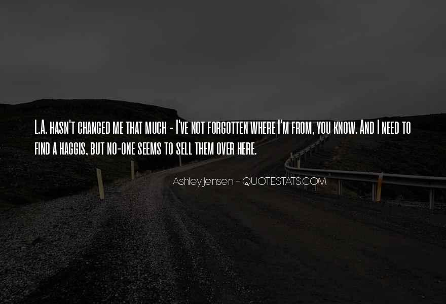 You Not Forgotten Quotes #17879