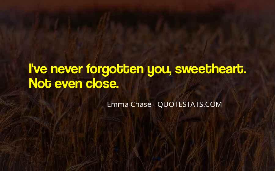 You Not Forgotten Quotes #304002