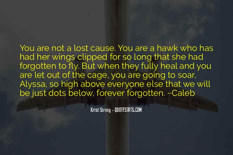 You Not Forgotten Quotes #48748
