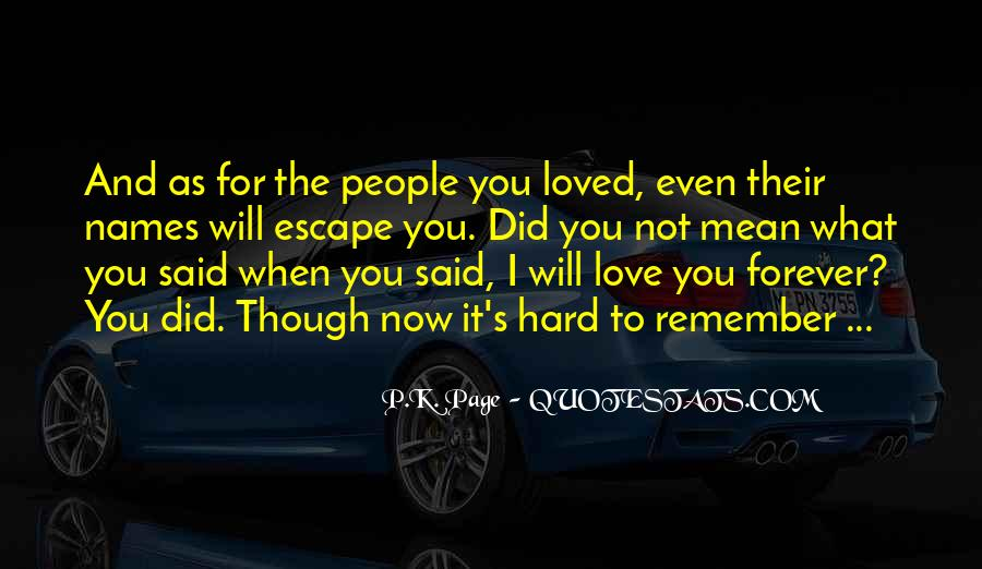 You Not Forgotten Quotes #773532