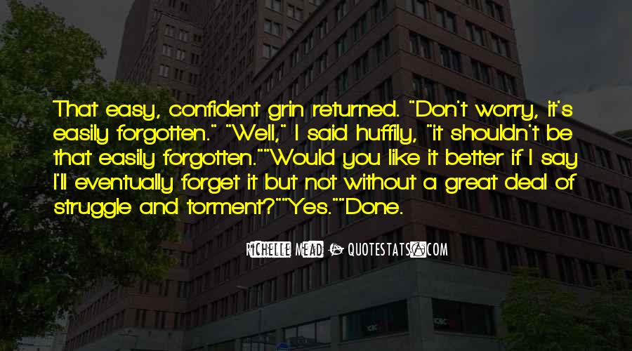 You Not Forgotten Quotes #861120