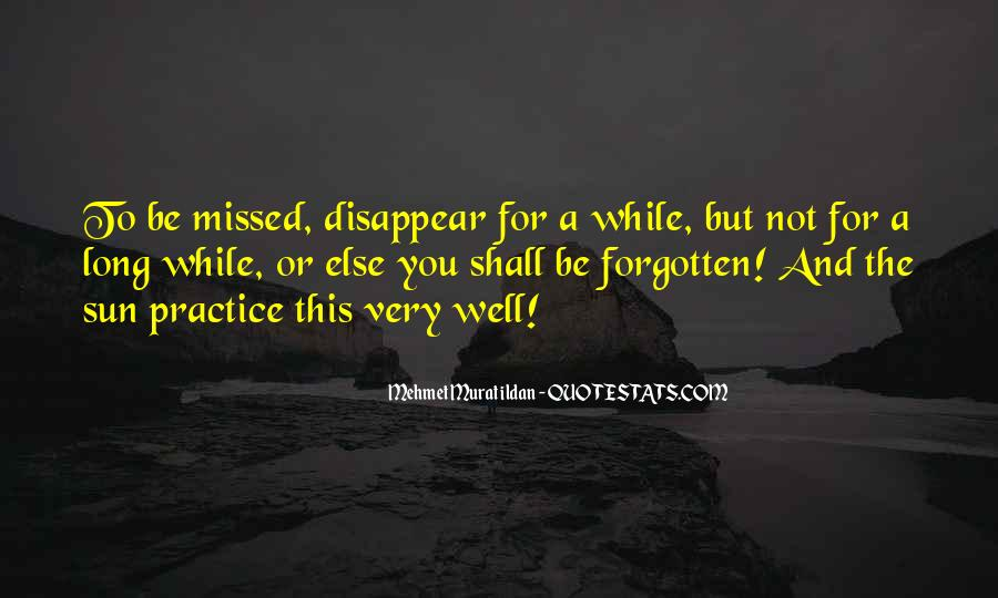 You Not Forgotten Quotes #875098