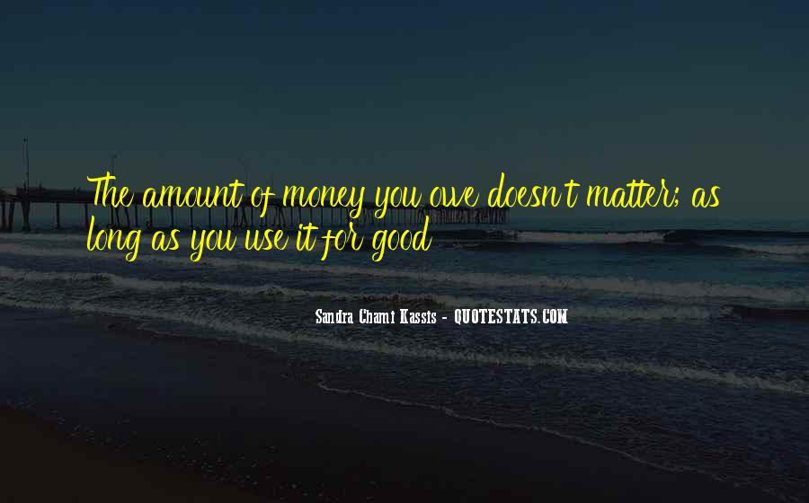 You Owe Me Money Quotes #143757