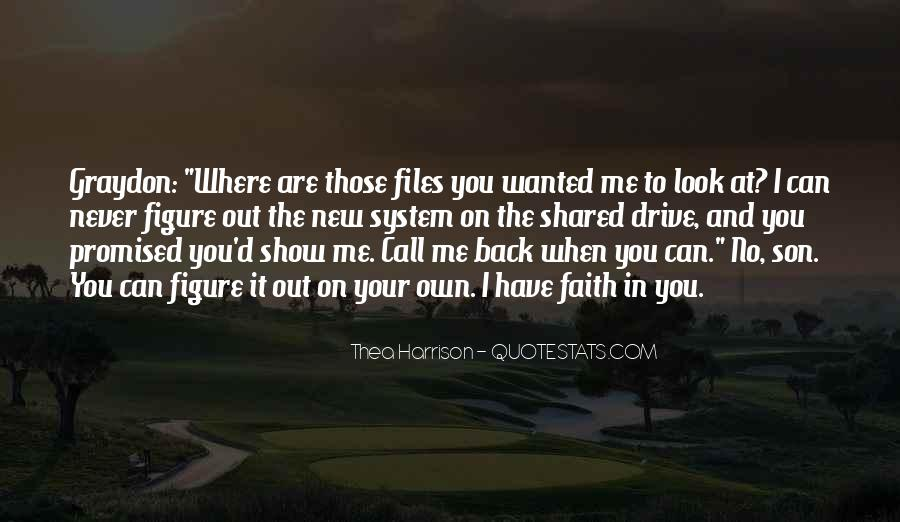 You Own Me Quotes #104818