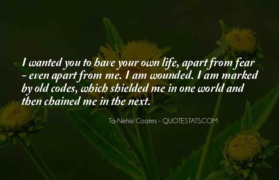 You Own Me Quotes #105516