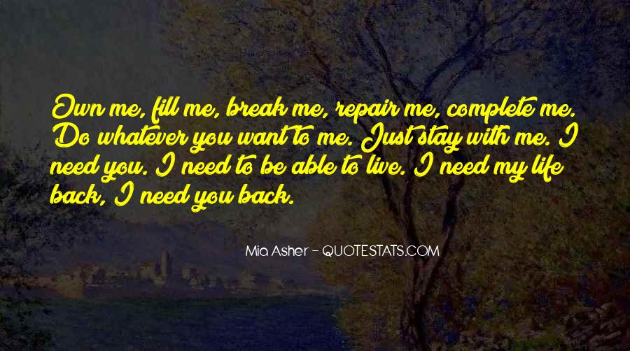 You Own Me Quotes #143567