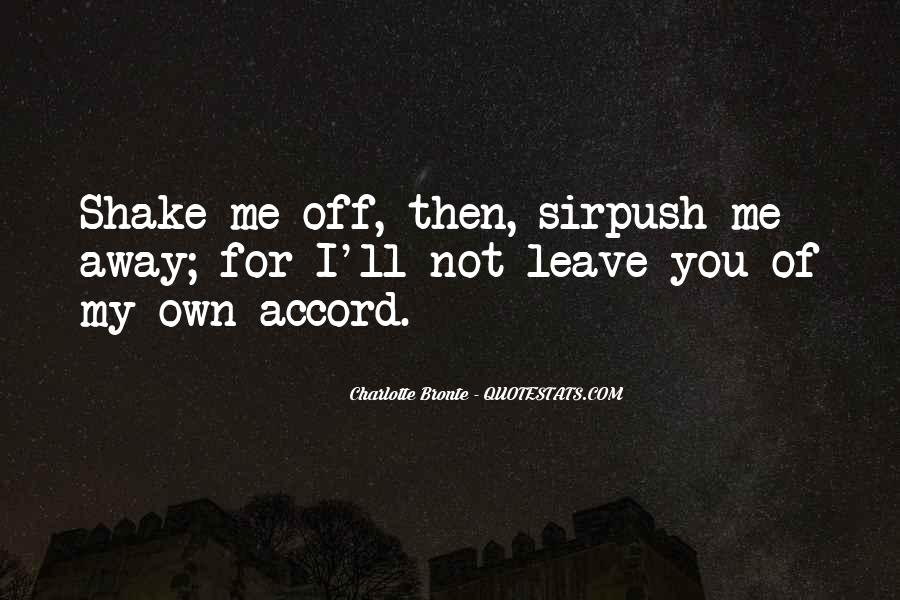 You Own Me Quotes #15480
