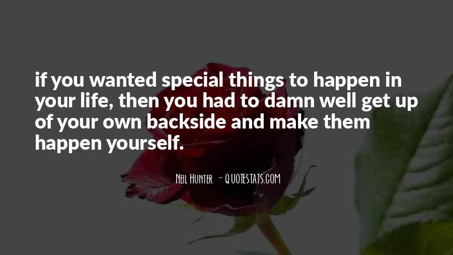 You Own Your Life Quotes #33256