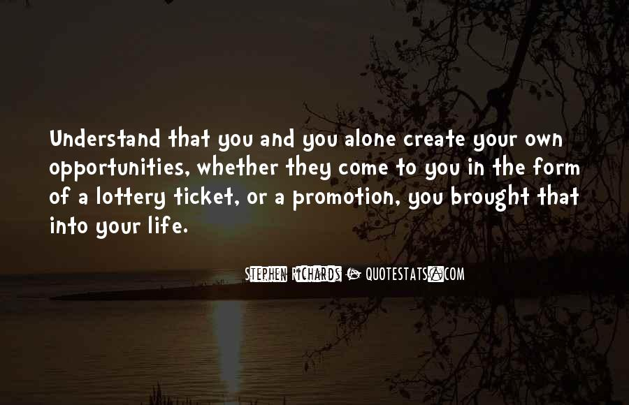 You Own Your Life Quotes #51740
