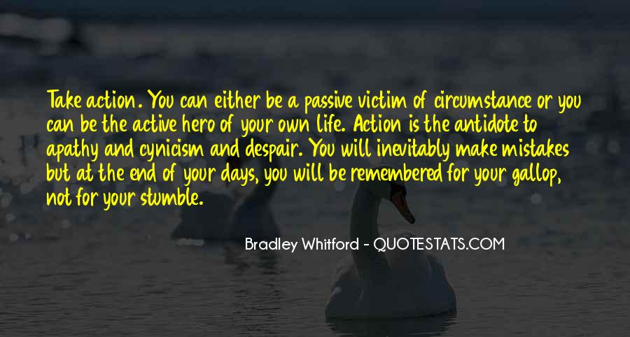 You Own Your Life Quotes #64509