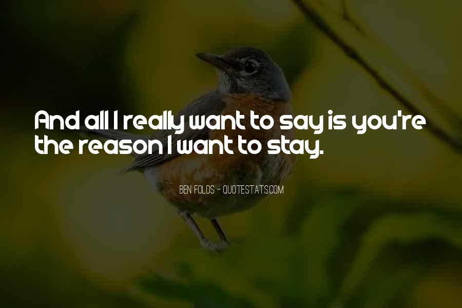 You Re The Reason Love Quotes #787355
