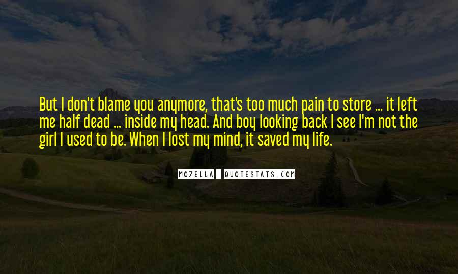 You Saved Me Love Quotes #1864464