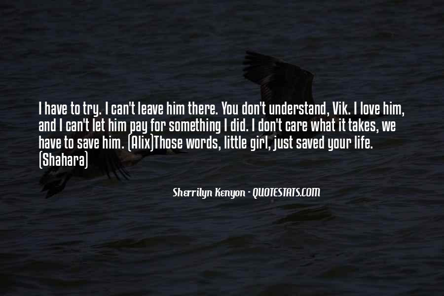 You Saved Me Love Quotes #492923
