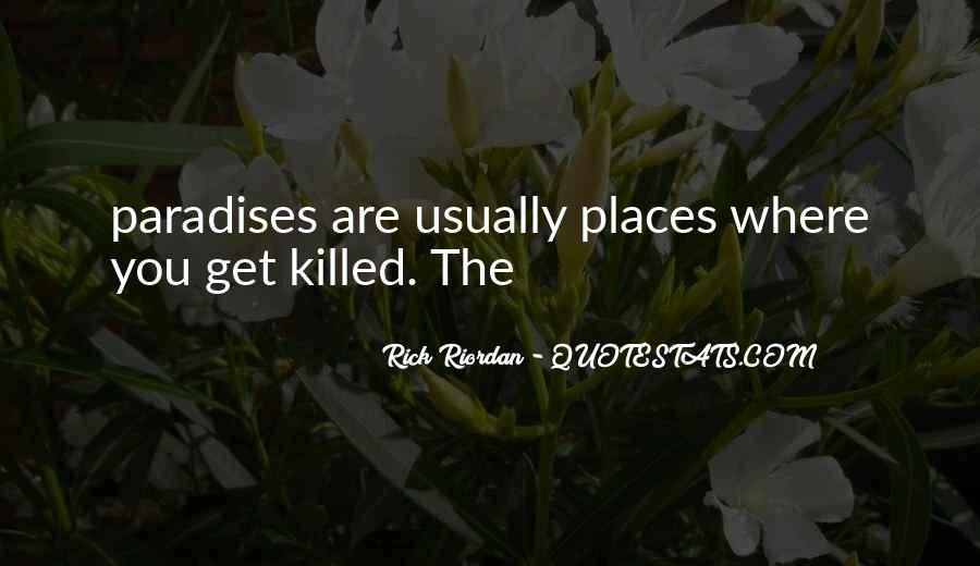 You Should Have Killed Me Quotes #5642