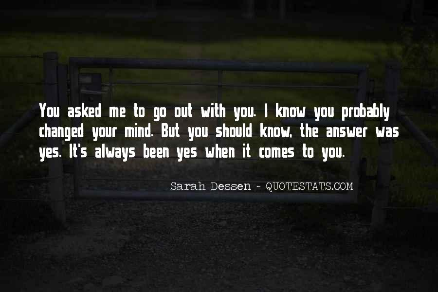 You Should Know I Love You Quotes #105670