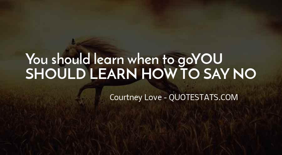 You Should Know I Love You Quotes #1218488