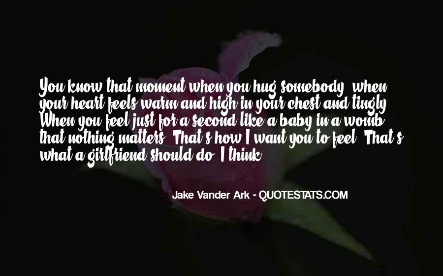 You Should Know I Love You Quotes #1265172