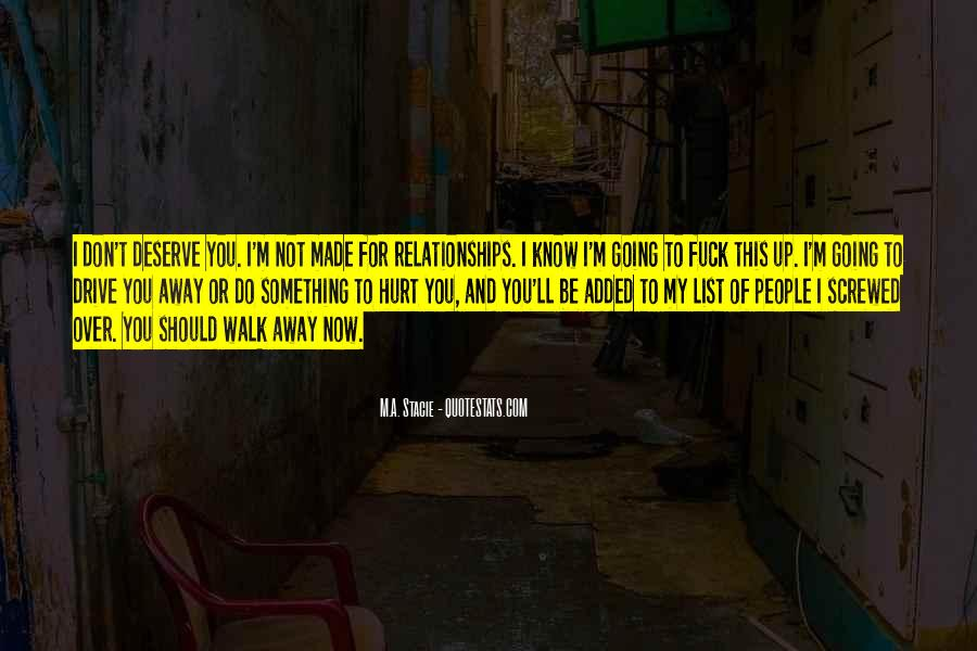 You Should Know I Love You Quotes #1401809