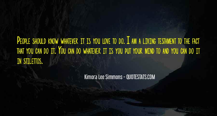 You Should Know I Love You Quotes #1454967